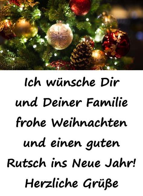 ich wuensche dir und deiner familie frohe weihnachten