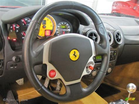 F430 Steering Wheel by 2005 F430 Coupe F1 Beige Steering Wheel Photo