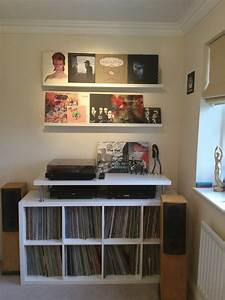 Meuble Platine Vinyle Vintage : meubles de rangement vinyles ~ Teatrodelosmanantiales.com Idées de Décoration