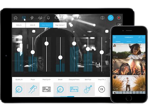 You can make something move, react to audio or even write your own math forumla if you want. Six Free Music Making Mobile Apps That Help Produce Tracks ...