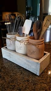 rustic kitchen canisters 17 best ideas about jar holder on jar organizer diy wall decor for