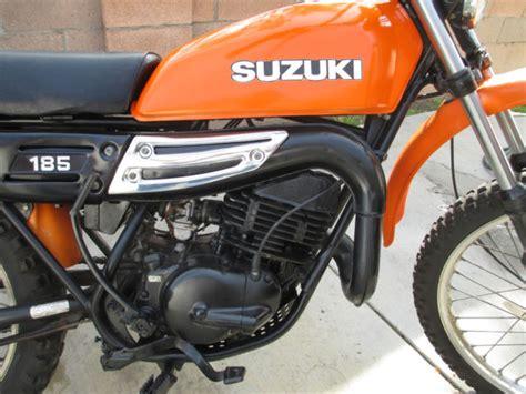 Suzuki 185 Enduro by Vintage 1978 Suzuki Ds185 Enduro Ahrma Title
