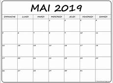 mai 2019 calendrier imprimable calendrier gratuit