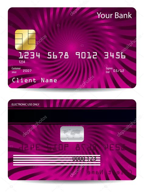 cool credit card design stock vector  vipervxw
