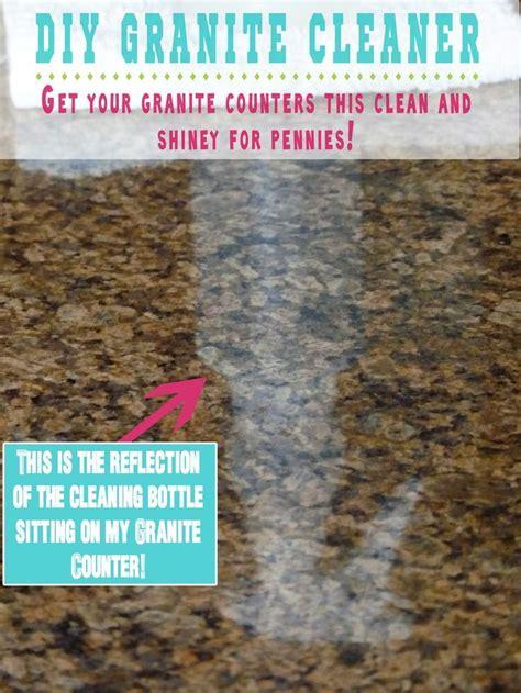 diy granite cleaner 1 3c 3 drops dish