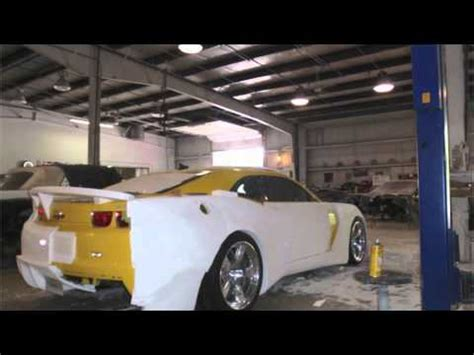 gen camaro ss custom wide body kit time lapse