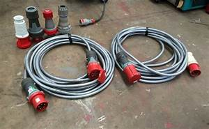 63 Amp 415 Volt 3 Phase 4 Or 5 Pin 15 Meter Extension