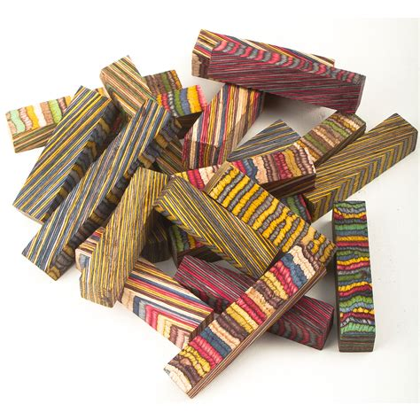 12 Assorted Color Grain Mini Blanks at Penn State Industries