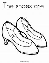 Shoes Coloring Built California Usa sketch template