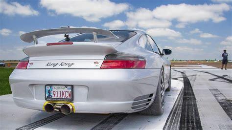 King Kong 1300hp Tt Porsche  Spinout @ 180mph!!! Youtube
