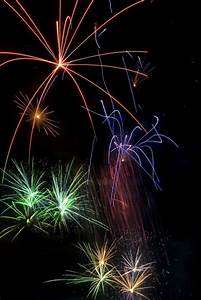 Creative Christmas Lights Photo Of Firework Trails Free Christmas Images