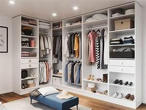 Dressing Ikea Angle : dressing sur mesure le rangement pratique ~ Teatrodelosmanantiales.com Idées de Décoration