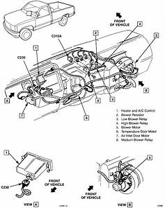 Where Is The Heater Actuator Located On A 1994 Chevy