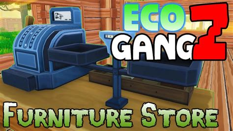 eco multiplayer gameplay gangz  op ep  furniture