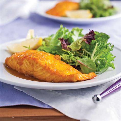 cuisiner filet de saumon filets de saumon à l 39 orange soupers de semaine