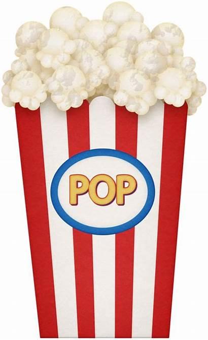 Popcorn Party Clipart Items Clip Carnival Park