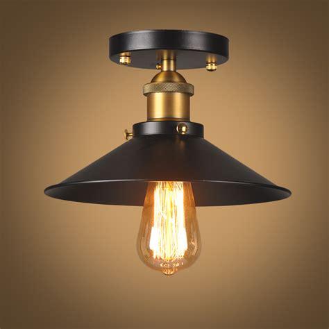 vintage ceiling light black ceiling lamp industrial flush