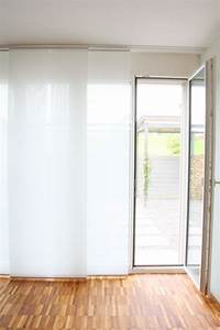 Flächenvorhang 80 Cm Breit : fl chenvorhang halbtransparent weiss 60cm 80cm 120cm breit ~ Buech-reservation.com Haus und Dekorationen