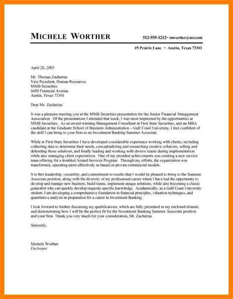 7 Cover Letter Format Internship by 7 Motivational Letter For Internship Sle Nanny Resumed