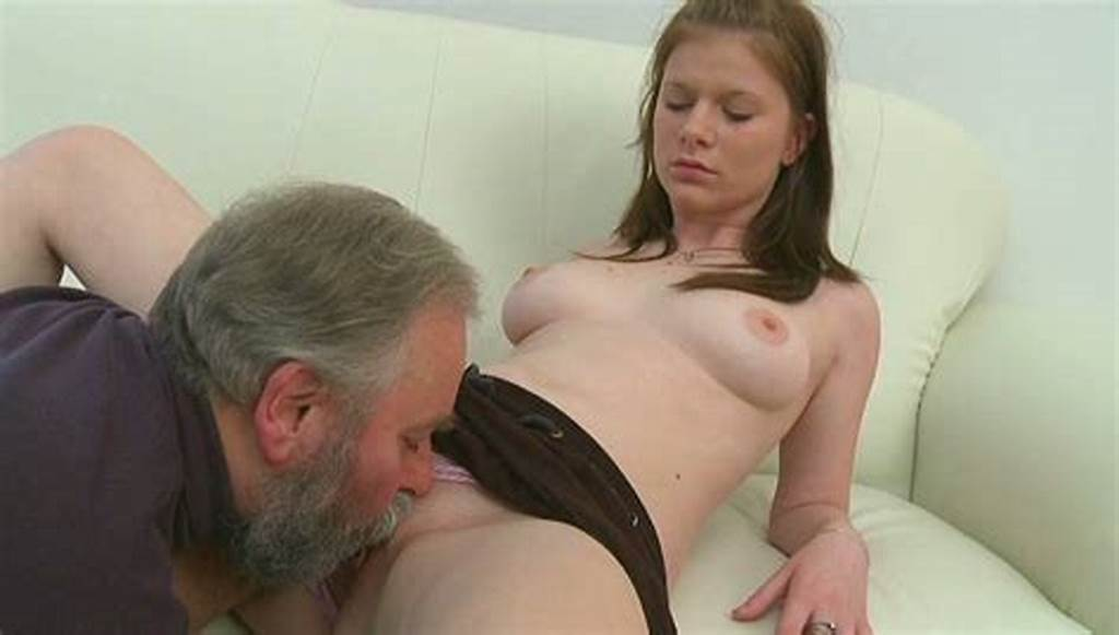 #Pretty #Brunette #Girl #Lets #Old #Man #Lick #Her #Pussy #And #Boobies