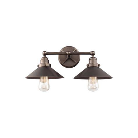 feiss hooper  light antique bronze bath light vsanbz