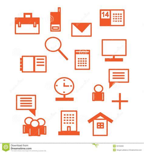 icones bureau icônes de bureau en images libres de droits image
