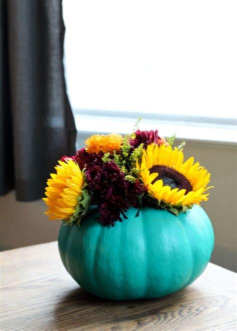 diy pumpkin vase centerpieces allfreediyweddingscom