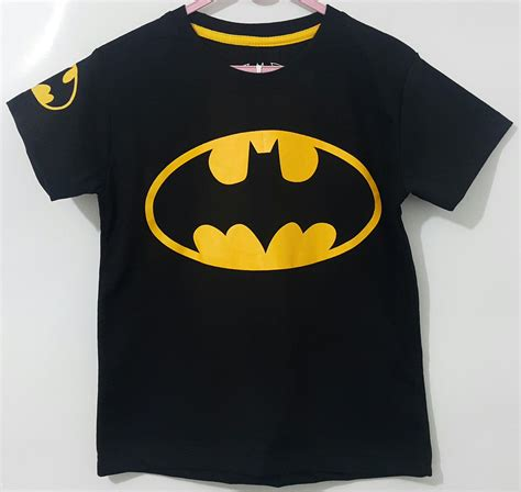 kaos batman logo kuning   marvel grosireceran baju