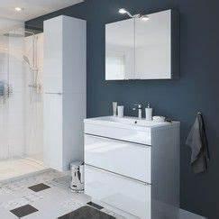 Meuble Salle De Bain 80 Cm Brico Depot : meuble sous vasque poser blanc imandra l 80 x h 82 x p 45 cm magasin de bricolage ~ Farleysfitness.com Idées de Décoration