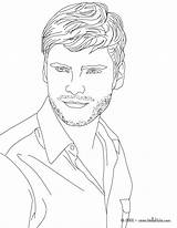 Coloring Pages Famous Actor Boys German Daniel Colouring Printable Realistic Actress Face Drawing Books Drawings sketch template