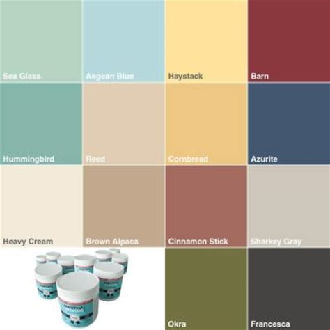 interior paint colors home depot martha stewart living tester sler interior latex paint 14 pack msldsp 14 the home depot