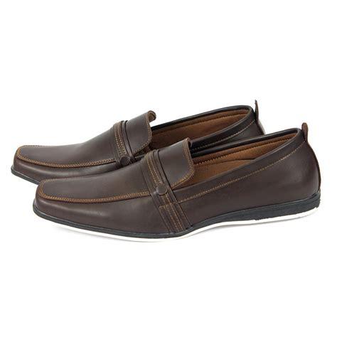 jual sepatu kulit slop on pria sepatu casual pria sepatu