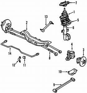 2006 Monte Carlo Front Axle Repair Diagram