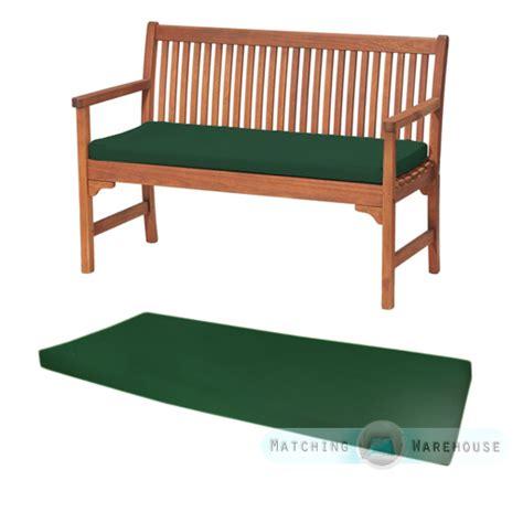 outdoor waterproof 2 seater bench swing seat cushion