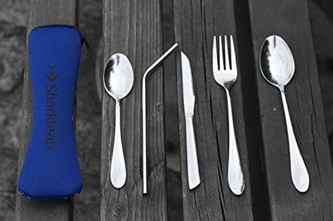 Sharkleap 5 Pieces Stainless Steel Utensil Set with
