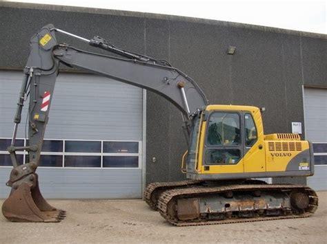 volvo ec160b lc excavator service repair manual manuals