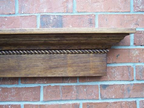 fireplace mantle images 60 quot stained crown moulding shelf with detail wall