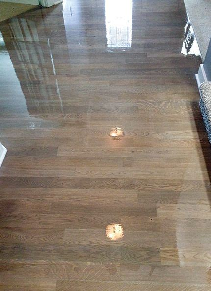 Gray Stain, White Oak & Water Based Finish: Can You Avoid