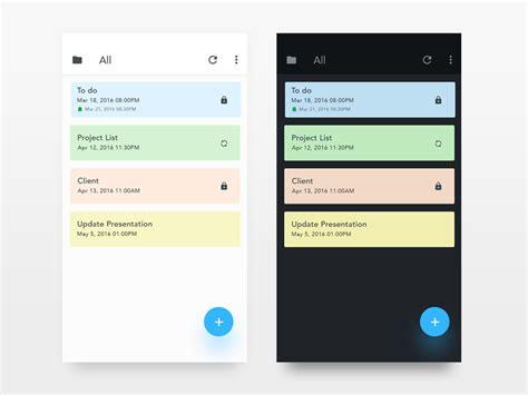 note android app uxui design  iftikhar shaikh  dribbble