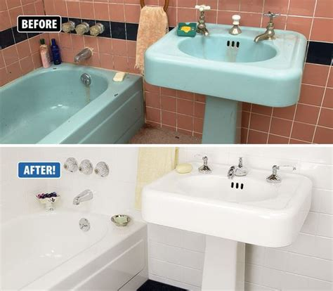 Refinishing Bathroom Fixtures by Wow Check Out This Amazing Dramatic Transformation This