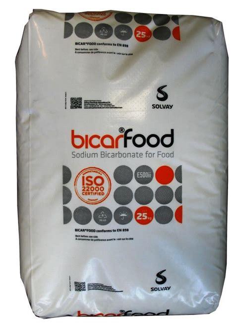 bicarbonate de sodium en cuisine sac 25 kg bicarbonate de sodium alimentaire granulométrie