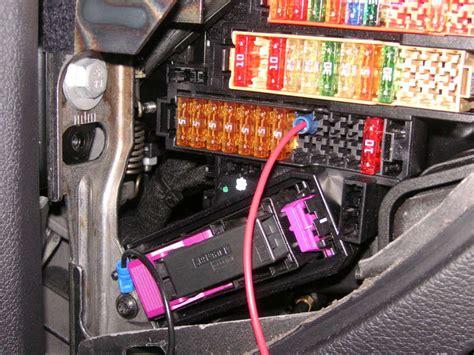 Fuse Box On Audi Q7 by Audi Q7 Diy Wiring Radar Detector In A Q7 Manual Guide