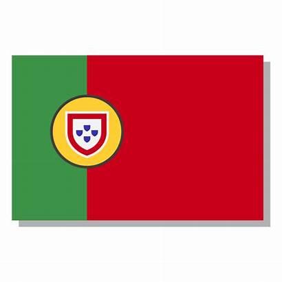 Portugal Bandeira Bandera Idioma Vexels Icono Transparente