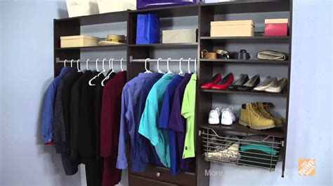 martha stewart living closet system deluxe the home