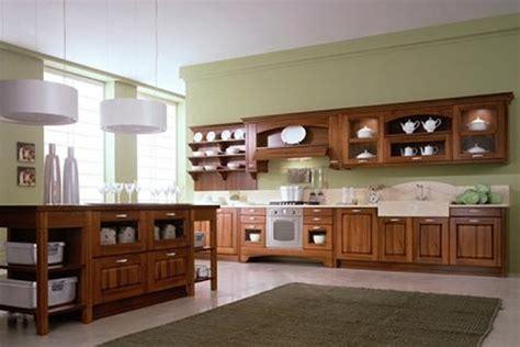 cocinas  muebles de madera interiores