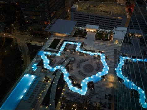 discover  texas shaped lazy river  downtown houston trips  discover