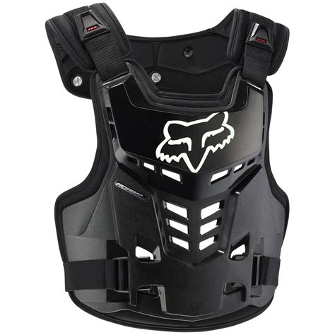 fox motocross chest protector fox racing new mx proframe lc black chest protector guard