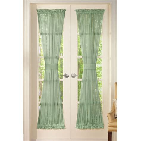 sheer door panel curtains by collections etc ebay