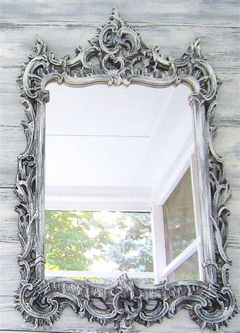 decorative vintage mirror  shabby chic baby nursery