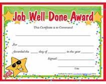 great job certificates pertaminico With good job certificate template